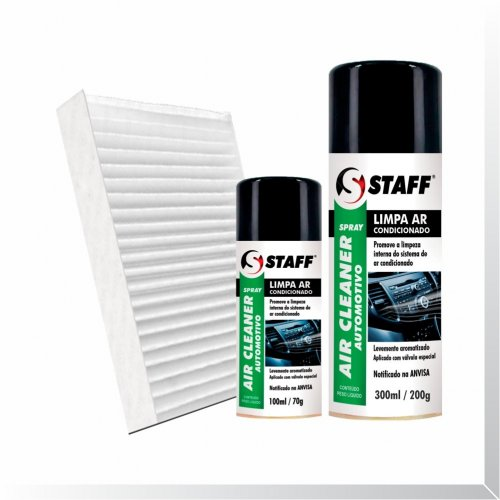 Kit Saúde (Filtro Pólen - Higienizador Spray)